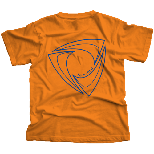 FD:UK Club T-Shirt Tangerine