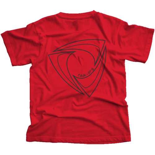 FD:UK Club T-Shirt Red
