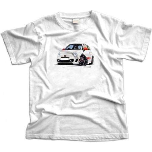 Fiat 500 Abarth Car T-Shirt