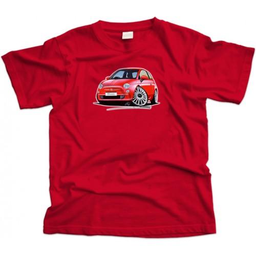 Fiat 500 Car T-Shirt