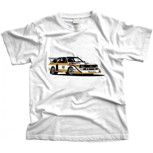 Audi Quattro Rally Car T-Shirt