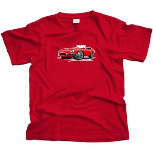 Jaguar E Type Car T-Shirt