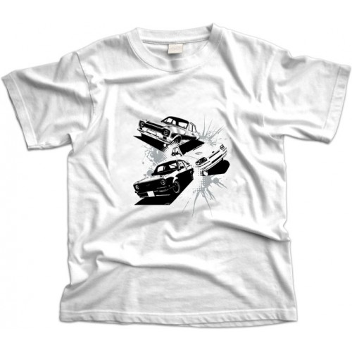 Ford Escorts Three T-Shirt