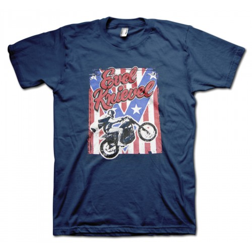 Evel Knievil Stipes Original Tshirt