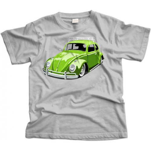 Green VW Beetle/Bug T-Shirt