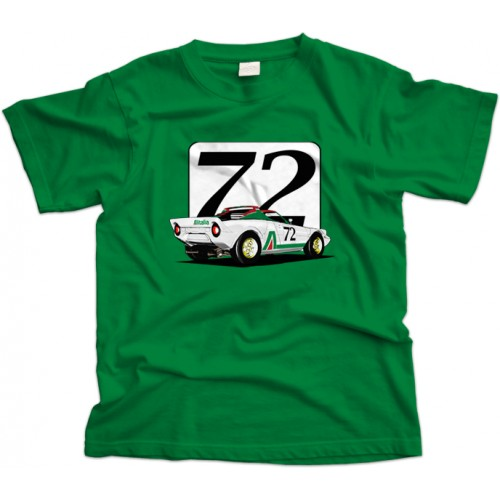 Lancia Stratos Italia car T-Shirt