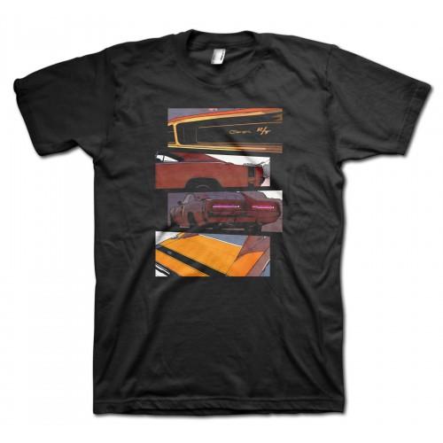 Dodge Charger Blocks t-shirt