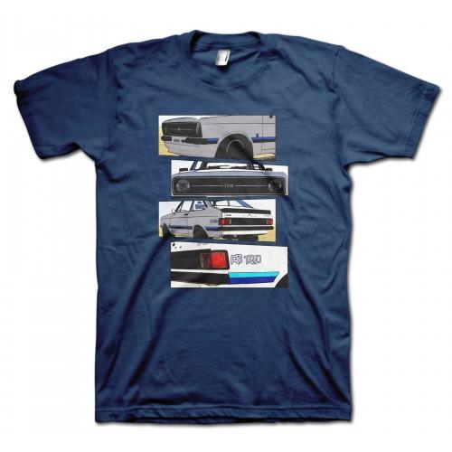 Ford Escort RS1800 Blocks t-shirt