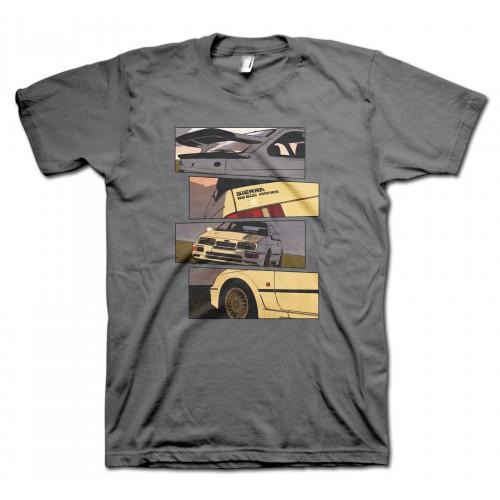 Sierra RS500 Cosworth Blocks t-shirt