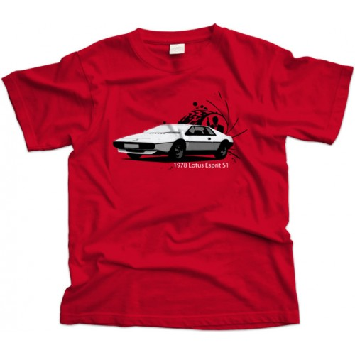 Lotus Esprit James Bond T-shirt