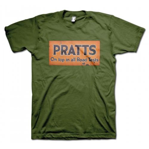 Pratts Petroleum Spirits Retro T-Shirt