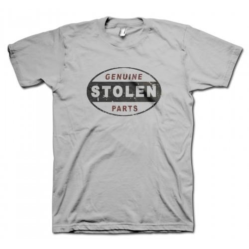 Stolen Car Parts Retro T-Shirt