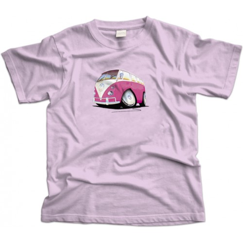 Volkswagen Splitty Pink