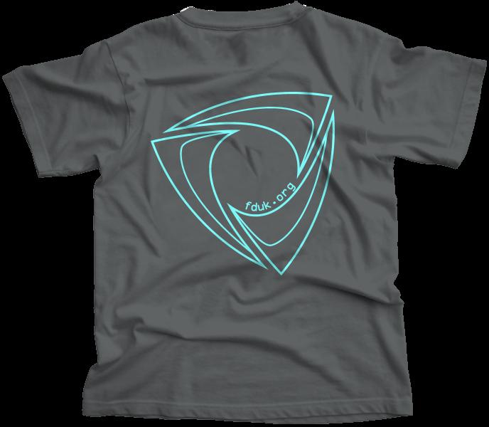 FD:UK Club T-Shirt Charcoal