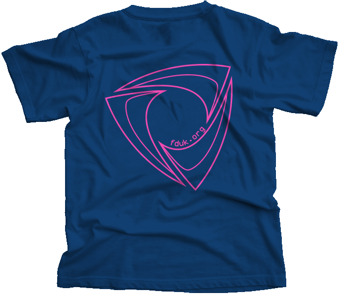 FD:UK Club T-Shirt Blue