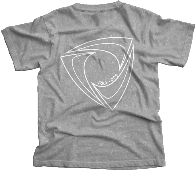 FD:UK Club T-Shirt Sports Grey
