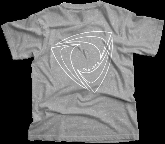 FD:UK Club T-Shirt Sports Grey