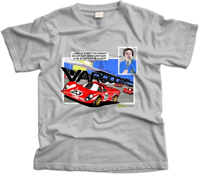 1967 Daytona 24hrs Ferrari 330 P4 T-Shirt