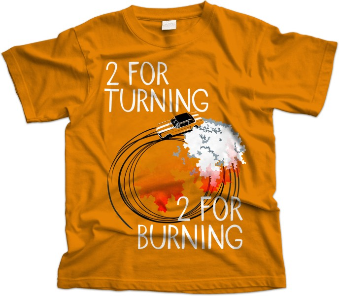 Turning And Burning T Shirt