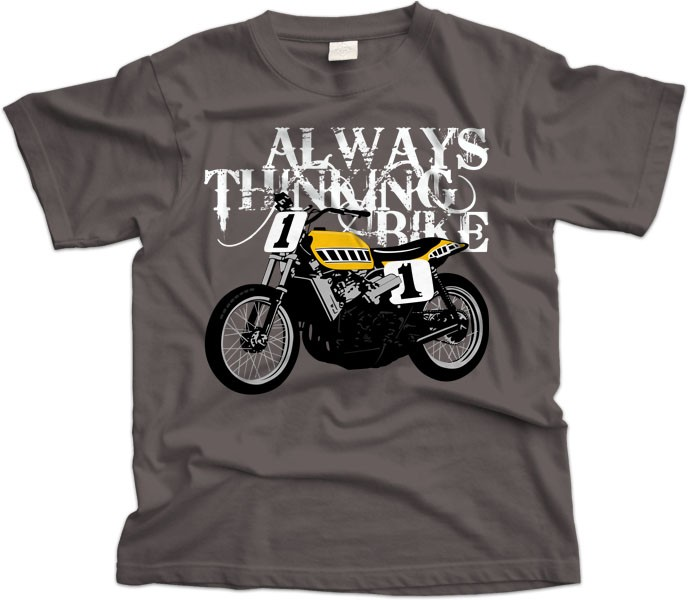 Always Thinking Bike T-Shirt