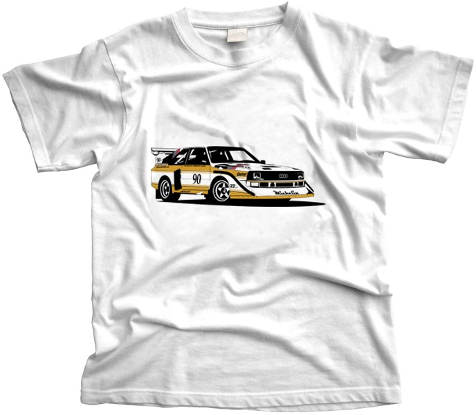 Audi Quattro Rally Car T-Shirt