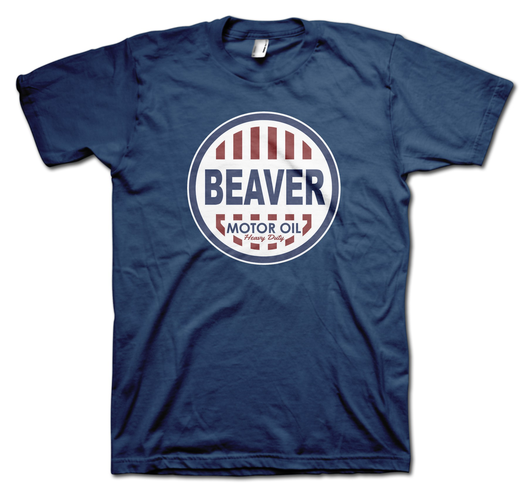 Beaver Motor Oil Retro T Shirt