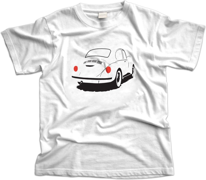 VW Beetle Car T-Shirt