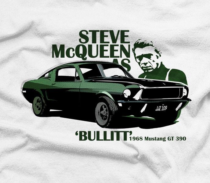 Ford Mustang Gt Bullitt T Shirt