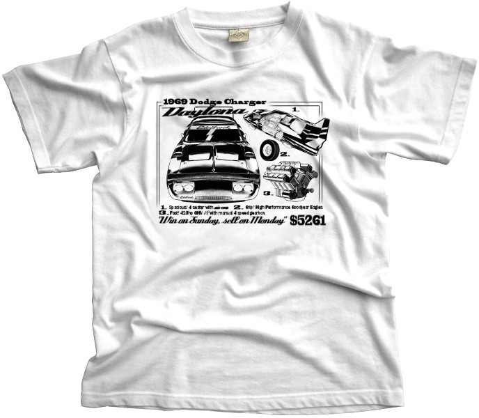 Dodge Charger Daytona T-shirt