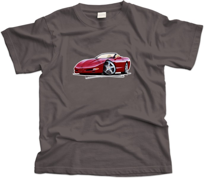 Corvette C5 Car T-Shirt