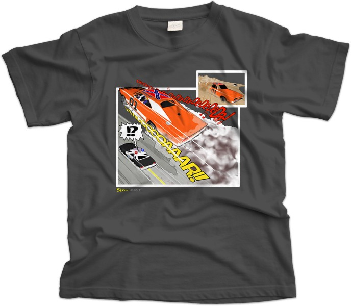 Dukes of Hazard General Lee T-Shirt