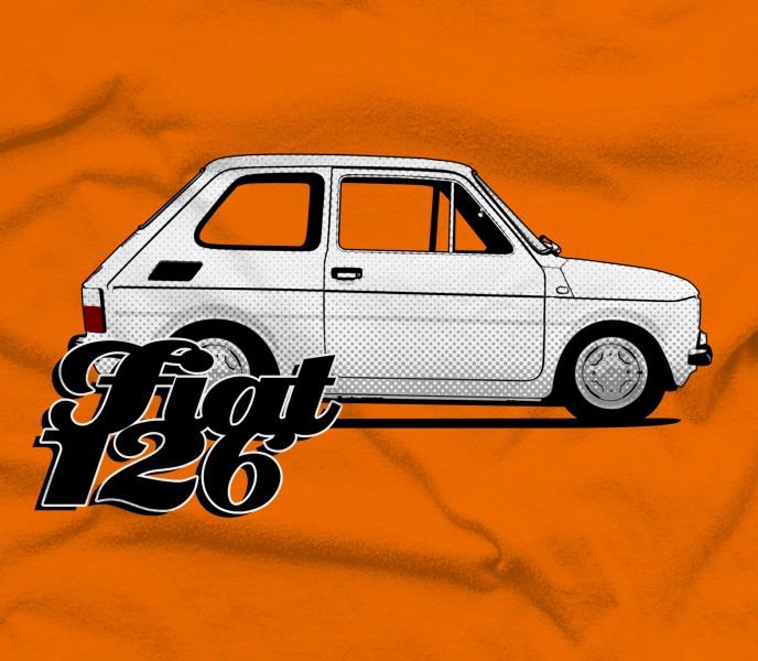 Fiat 126 T-shirt