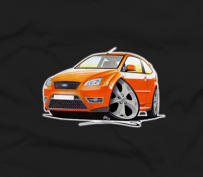 Ford Focus St Car T Shirt