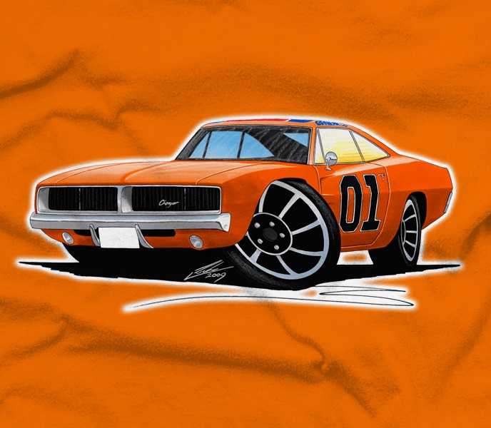 Dodge Charger General Lee Petrolthreads Co Uk Store View