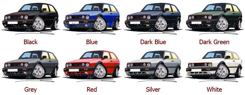 vw golf mk gti car  shirt