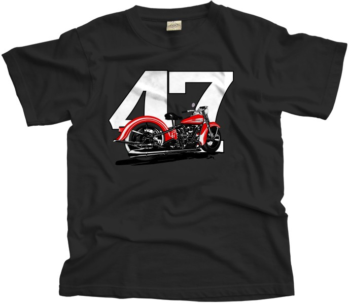 Harley Davidson Knucklehead bike T-Shirt
