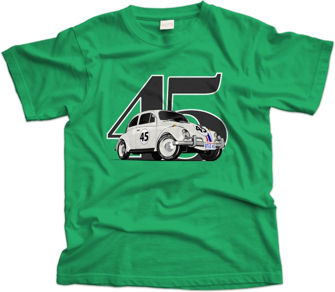 VW Beetle Herbie Car T-Shirt