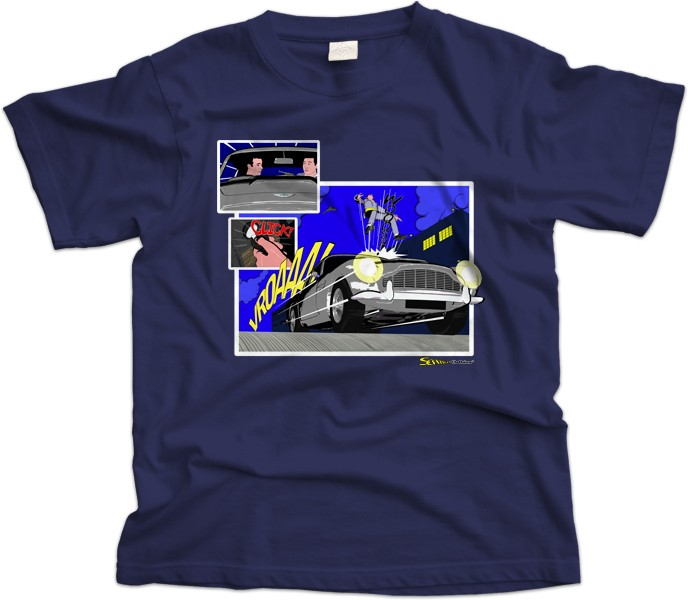 James Bond DB5 T-Shirt
