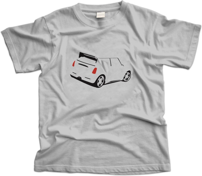 Mini R53 JCW GP Car T-Shirt