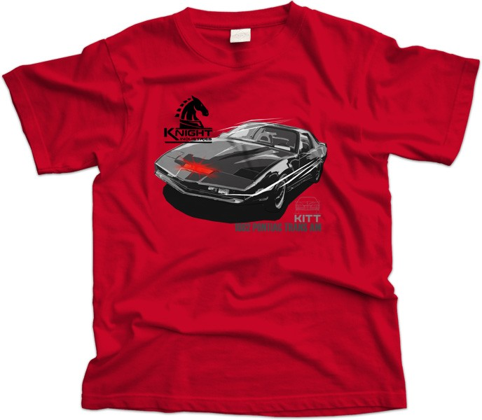 Pontiac Trans Am Kitt Car T-Shirt