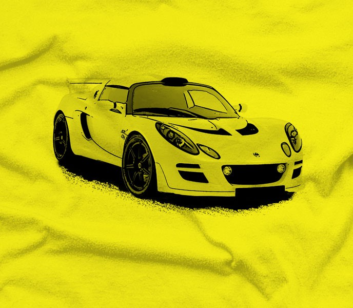 Lotus Exige Car T-Shirt