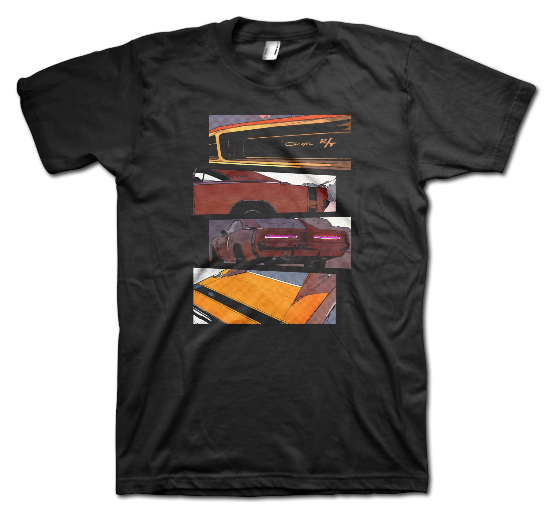 Dodge Charger Blocks t-shirt