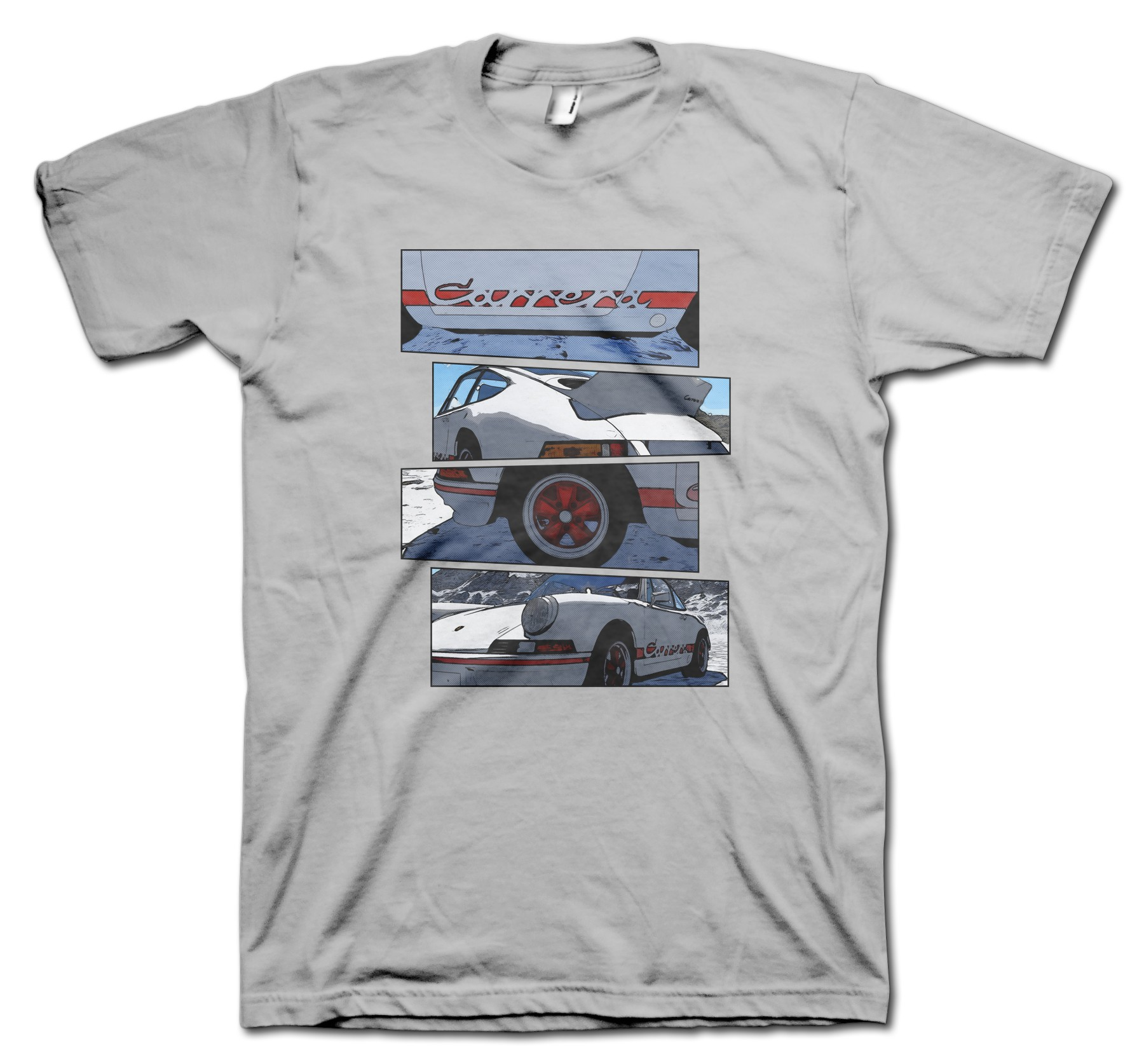 Porsche 2.7 RS Blocks t-shirt