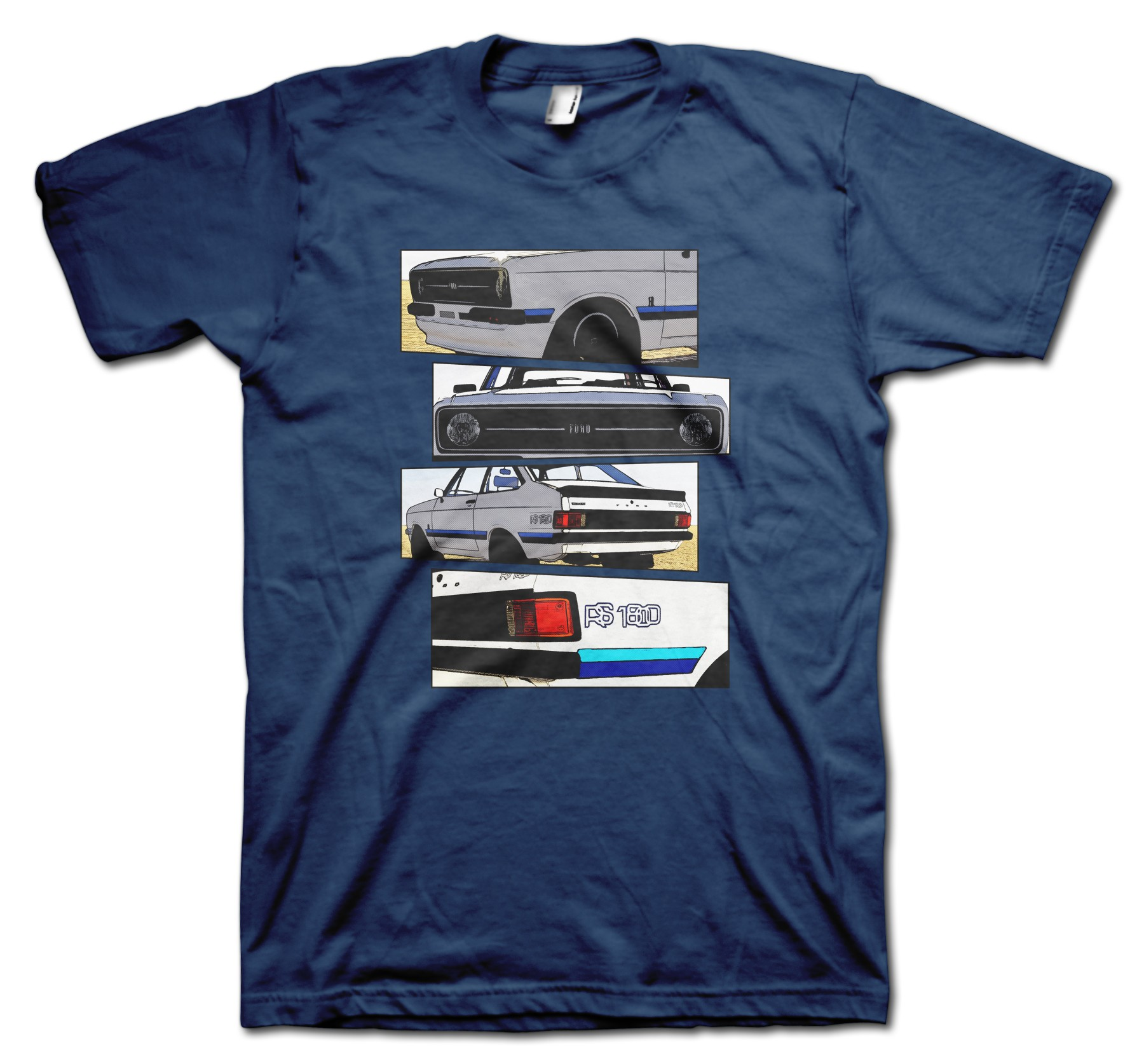 Ford Escort RS1800 Blocks t-shirt