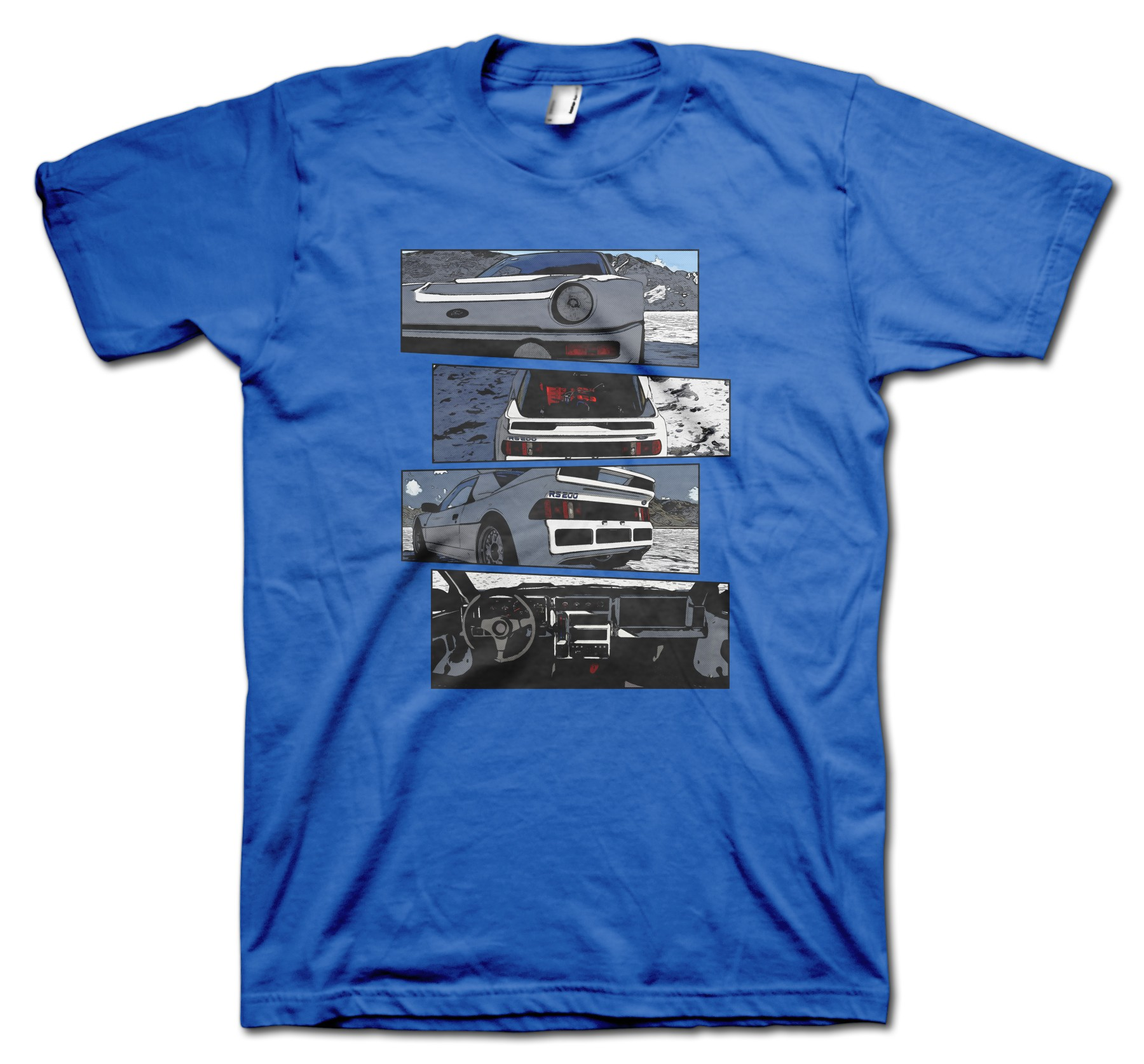 Ford RS200 Blocks t-shirt