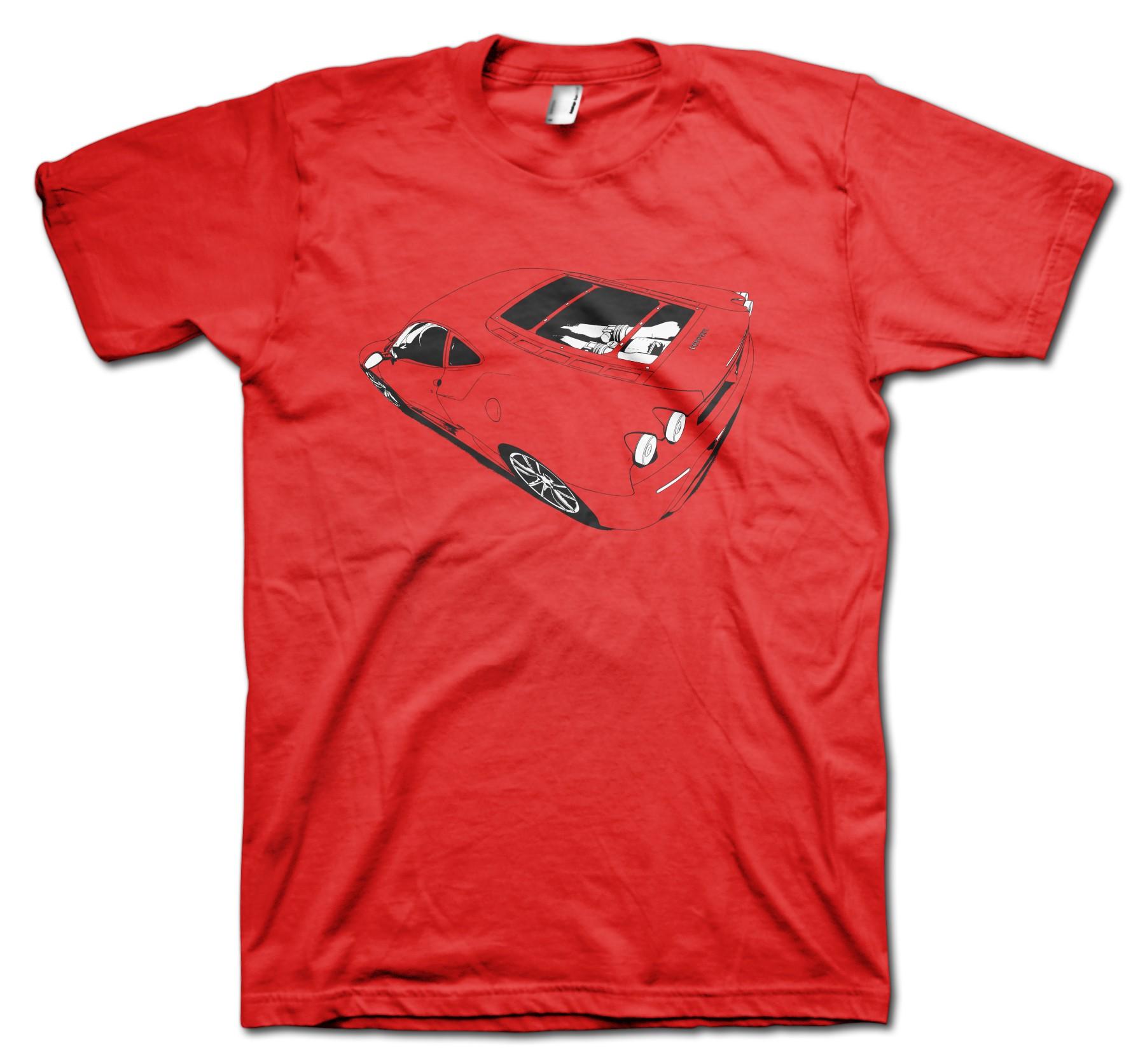 Ferrari F430 t-shirt