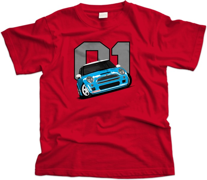 Mini Cooper S R53 Car T-Shirt