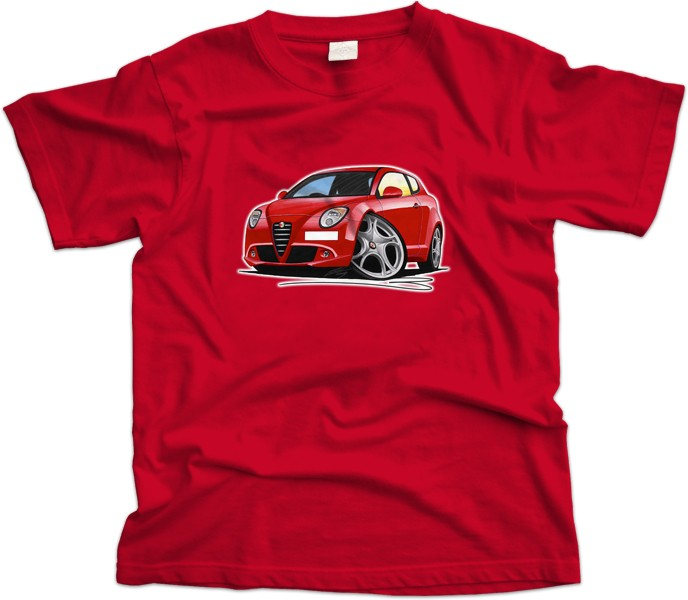 Alfa Romeo Mito Car T-Shirt