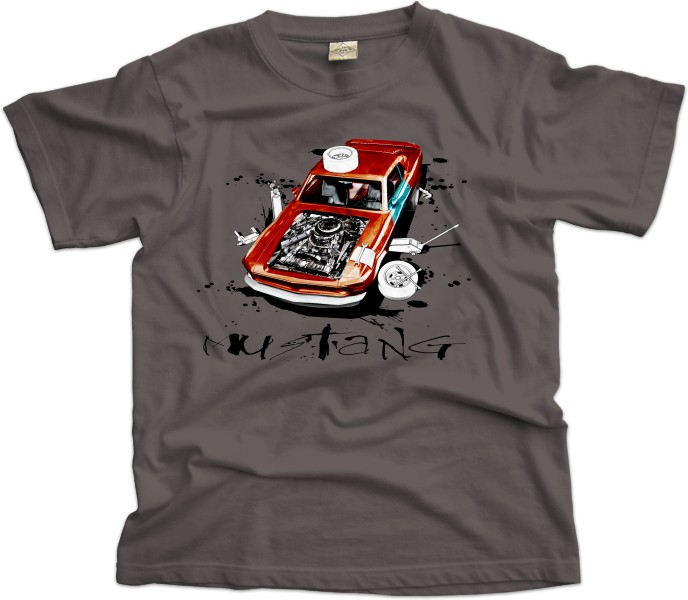 Ford Mustang Workshop Scene T-shirt