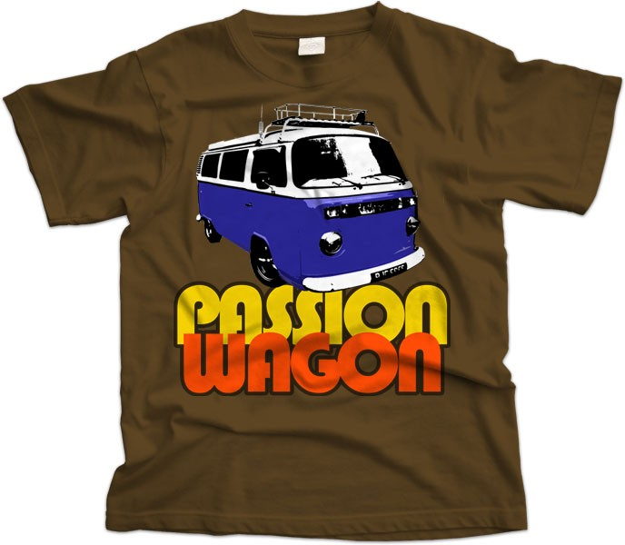 VW Bay Window Passion Wagon T-Shirt